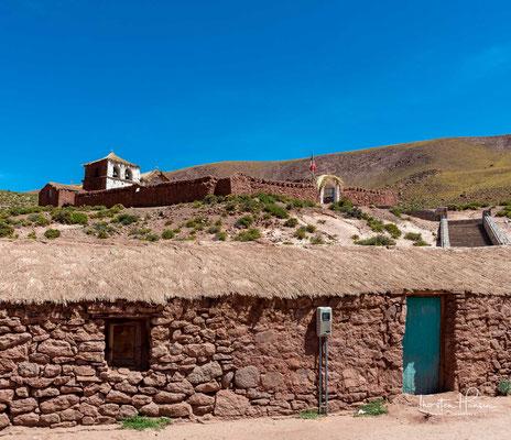 Die Kirche von Machuca in San Pedro de Atacama ist eine der ältesten in Chile
