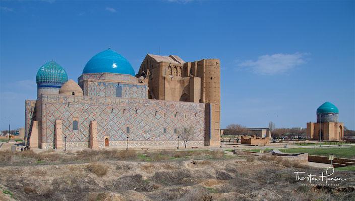 Seit 2003 ist das Mausoleum Teil des Weltkulturerbes der UNESCO.