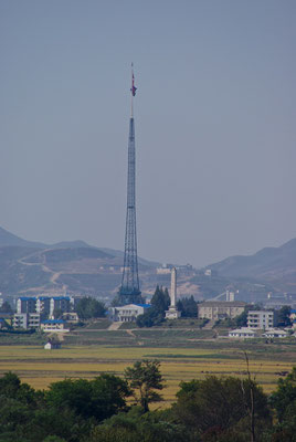 Der höchste Flaggenpol in der Welt
