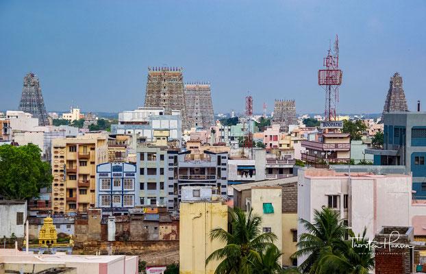 Madurai ist eine der ältesten Städte Südindiens und kann auf eine über zweitausendjährige Geschichte zurückblicken.