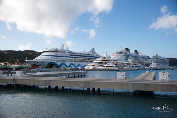 Mit der Aida in der Karibik - Amerikanische Jungferninseln