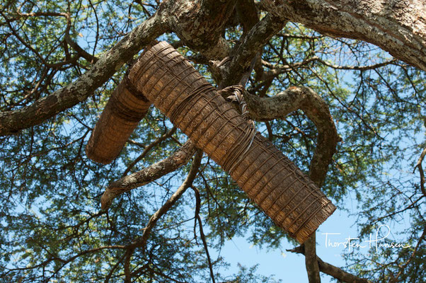 Bienenkörbe in Äthiopien