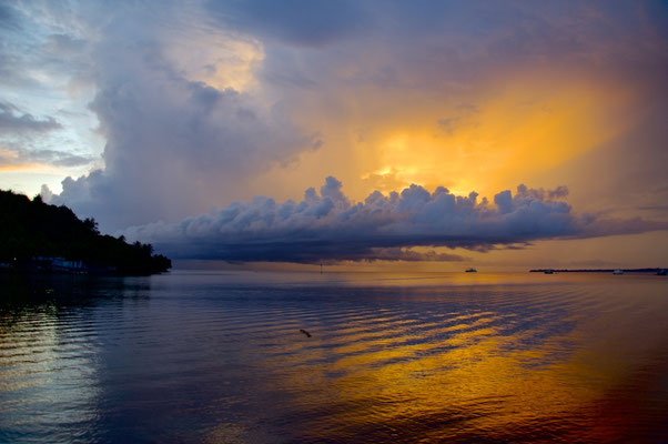 Sonnenaufgang in Wewak