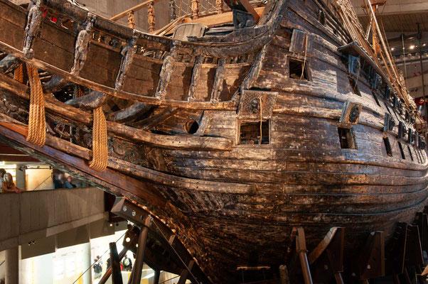 Das Holz wurde zur Halbinsel Blasieholmen im heutigen Stockholmer Stadtteil Norrmalm gebracht, wo am 1. Januar 1626 der eigentliche Bau begann.