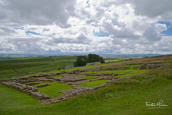 Housesteads Roman Fort und Adria´s Wall