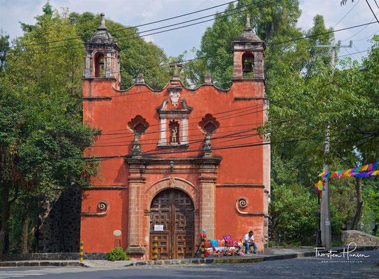 Die Avenida Francisco Sosa, die bedeutendste Straße von Mexiko Stadt