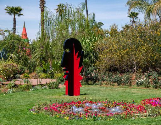 Als Insel kann dieser atemberaubende Traum von Grün in der sonst karg anmutenden Landschaft südlich von Marrakesch ganz sicher bezeichnet werden