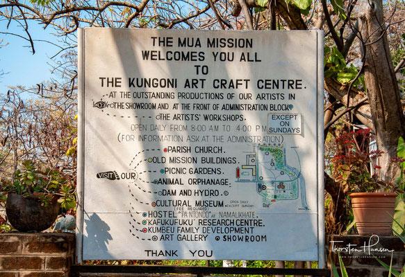 Die Mua Mission wurde von den Weißen Vätern 1902 gegründet, womit sie die älteste in ganz Malawi ist.
