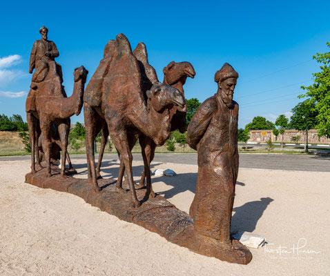 Das Afrasiab Museum of Samarkand ist ein Museum an der historischen Stätte von Afrasiyab...