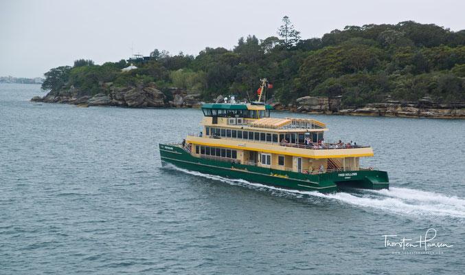 Typische Fähre in Sydney