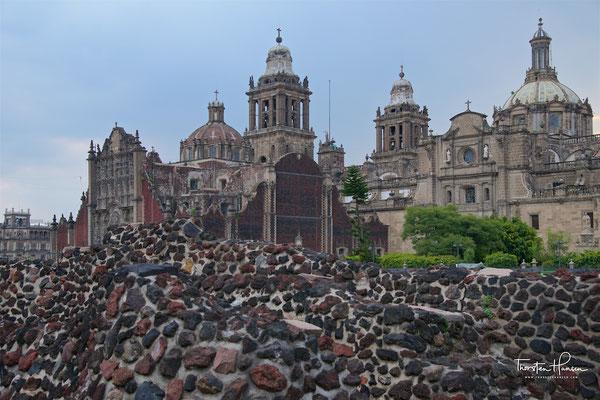 Tenochtitlan - vom 14. bis Anfang des 16. Jh die Hauptstadt des Reiches der Azteken
