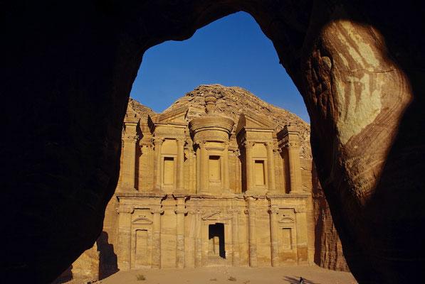 The Monastary in Petra