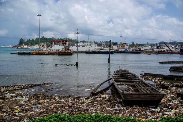 Im Jahre 2007 waren die Zerstörungen des großen Tsunamis von 2004 noch seht gut zu erkennen