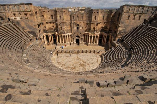 Das römische Theater in Bosra