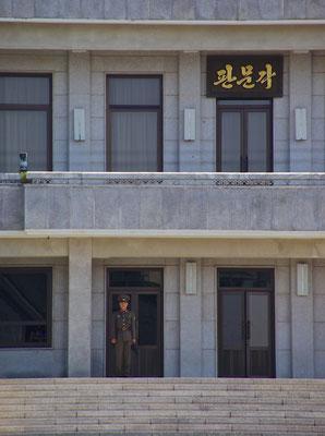 Nordkoreanische Soldaten in Panmunjom
