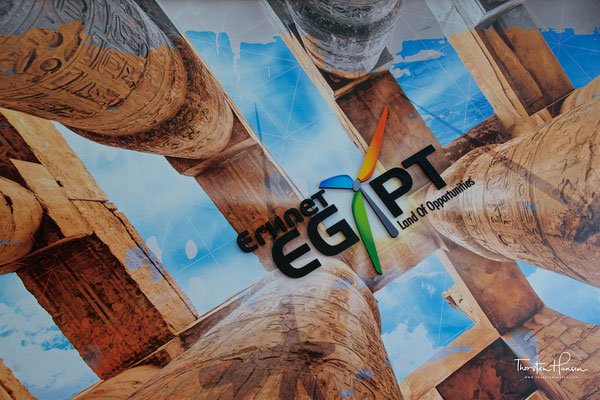 Der ägyptische Pavillion