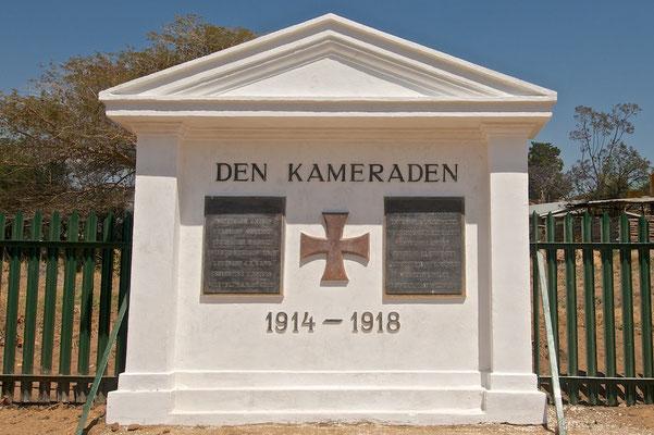 Deusche Kriegsgräber in Iringa