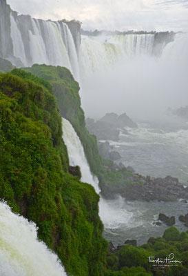 """Von ihm erhielten die Wasserfälle den Namen """"Saltos de Santa Maria""""."""