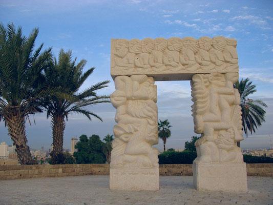 Statue des Glaubens in Jaffa