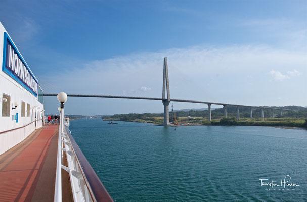 Die Atlantik Brücke in Panama, ist die dritte Brücke über dem Panamakanal