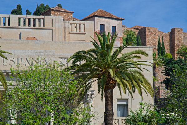 Die Alcazaba von Málaga, eine maurische Festung