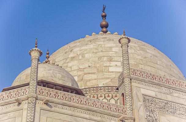 """Rabindranath Tagore beschrieb in einem seiner Gedichte den Taj Mahal als """"eine Träne auf der Wange der Zeit""""."""