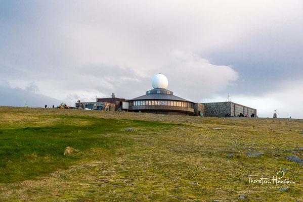 Das Besucherzentrum am Nordkap wird als Nordkap-Halle bezeichnet und hält für seine Besucher ganzjährig verschiedene Ausstellungen bereit