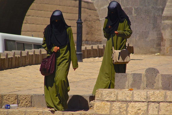 Frauen in Sanaa