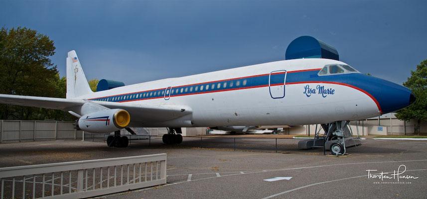 Privatflugzeug von Elvis Presley