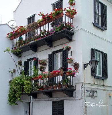 Englischer Styl in Gibraltar