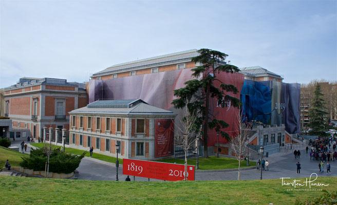 """Das Museo del Prado in Madrid, Spanien, kurz Prado genannt (spanisch prado """"Wiese""""), ist eines der größten und bedeutendsten Kunstmuseen der Welt. Es zählte im Jahr 2011 rund 2,9 Millionen Besucher."""