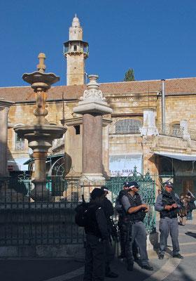 Muristan Quelle in Jerusalem