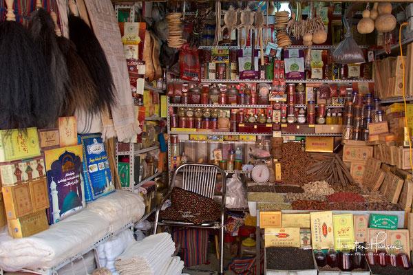 Geschäft in Kashgar