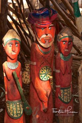 Waka Statue - Konso People