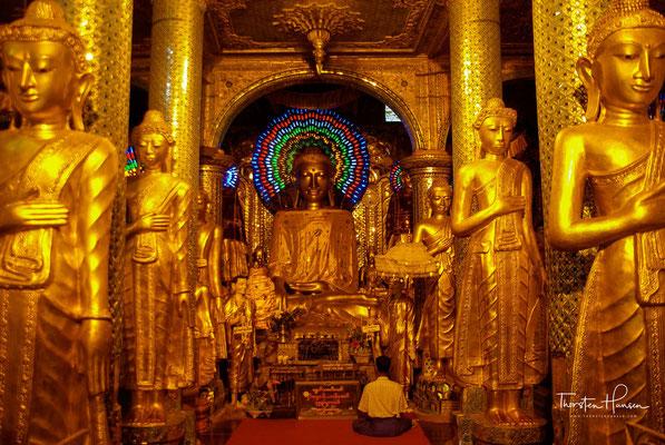 Ein halbes Jahrhundert später erweiterte König Binyagyan die Pagode auf eine Höhe von 90 Metern. Seine Nachfolgerin, Königin Shinsawbu (reg. 1453–1472), gab der Pagode ihr heutiges Erscheinungsbild.