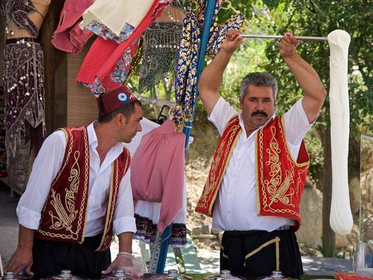 Marasch Eis ist eine türkische Spezialität aus Kahramanmarasch