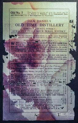 Eine besondere Rolle spielen dabei Lynchburg, der Heimatort Jack Daniels, das in der Werbung als archetypische amerikanischen Kleinstadt porträtiert wird, und eine starke Betonung der Gründerpersönlichkeit Jack Daniel.