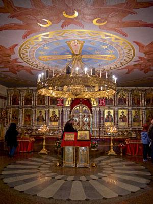 Die Kathedrale auf dem Blut in Jekaterinburg