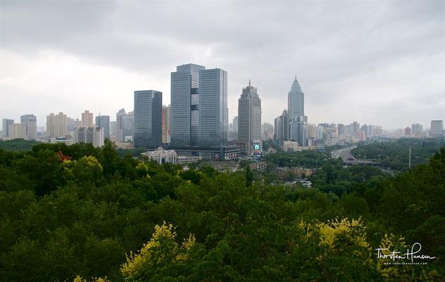 Blick über Urumqi
