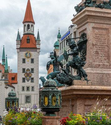 Das Alte Rathaus am Marienplatz ist ein Repräsentationsgebäude der Stadtverwaltung in der Münchner Altstadt.