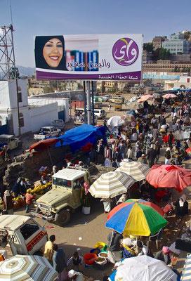 Markt in Manakha