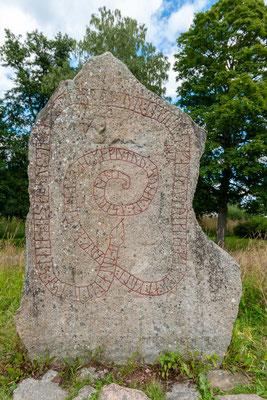 Runenstein beim Gripsholm Slott