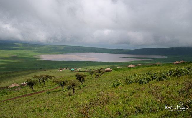 Massai Dorf