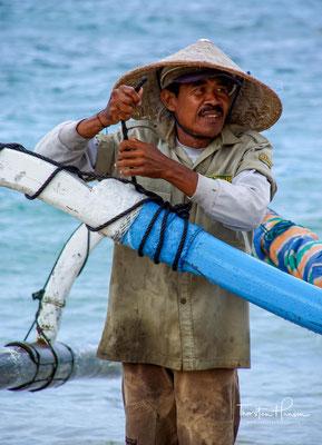 Padang Bai auf Bali ist für die meisten nur ein Sprungbrett nach Lombok auf die Gili Inseln.