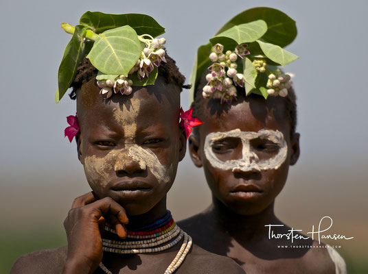 Karo People am Omo River