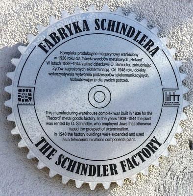Die Fabryka Emalia Oskara Schindlera (kurz: Fabryka Schindlera) ist ein staatliches Museum in einem ehemaligen Gebäude der Emaillewarenfabrik von Oskar Schindler in Krakau.