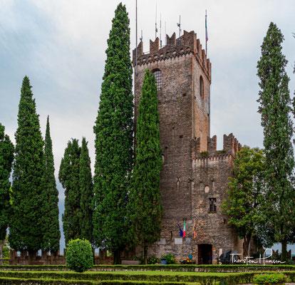 Blick vom Kastell auf die Stadt Conegliano