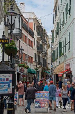 Stadtzentrum von Gibraltar