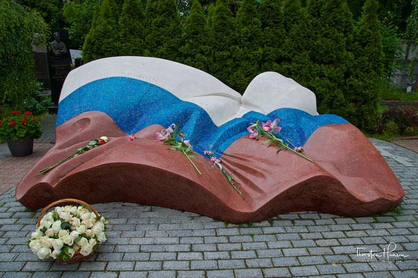 Grab von Boris Jelzin auf dem Nowodewitschi-Friedhof