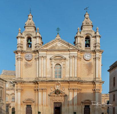 Die Kathedrale St. Paul in Mdina ist die ursprüngliche Bischofskirche des Erzbistums Malta. Seit 1816 teilt sie diese Funktion mit der Co-Kathedrale St. Johannes.